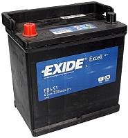 Автомобильный аккумулятор Exide Excell EB451 (45 А/ч) -