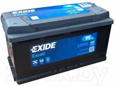 Автомобильный аккумулятор Exide Excell EB950 (95 А/ч)