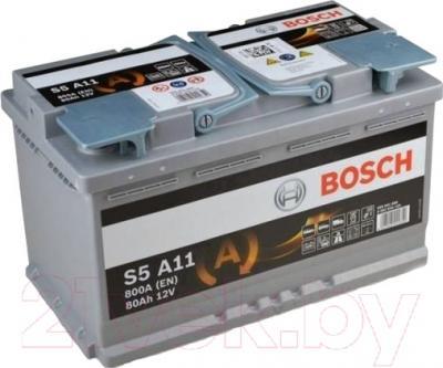 Автомобильный аккумулятор Bosch S5 092 S5A 110 AGM (80 А/ч)