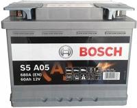 Автомобильный аккумулятор Bosch S5 092 S5A 050 (60 А/ч) -