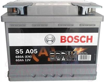 Автомобильный аккумулятор Bosch S5 092 S5A 050 (60 А/ч)