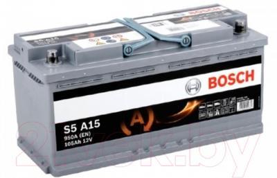 Автомобильный аккумулятор Bosch S5 092 S5A 150 (105 А/ч)