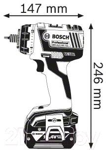 Профессиональная дрель-шуруповерт Bosch GSR 14.4 V-EC FC2 Professional (0.601.9E1.000)