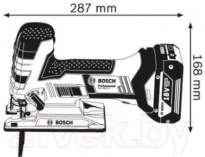 Профессиональный электролобзик Bosch GST 18 V-LI S (0.601.5A5.100)