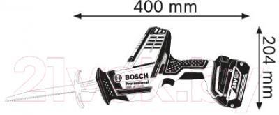 Профессиональная сабельная пила Bosch GSA 18 V-LI C Professional (0.601.6A5.001)