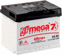 Автомобильный аккумулятор A-mega Ultra Plus 64 R (64 А/ч) -
