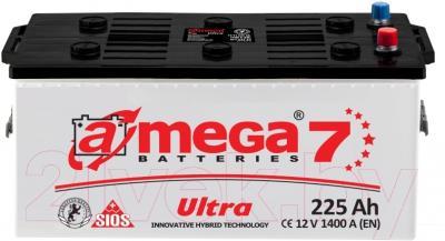Автомобильный аккумулятор A-mega Ultra 225 (3) (225 А/ч)
