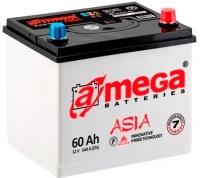 Автомобильный аккумулятор A-mega Asia Standard 60 JR (60 А/ч) -