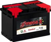 Автомобильный аккумулятор A-mega Standard 74 R (74 А/ч) -