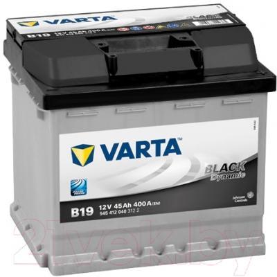 Автомобильный аккумулятор Varta Black Dynamic 545412  (45 А/ч)