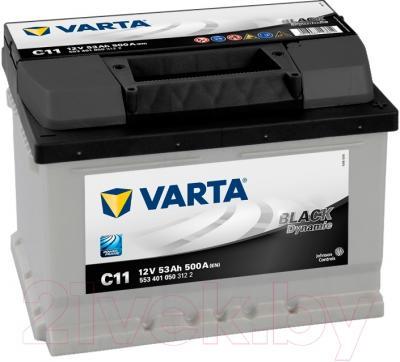 Автомобильный аккумулятор Varta Black Dynamic 553401  (53 А/ч)