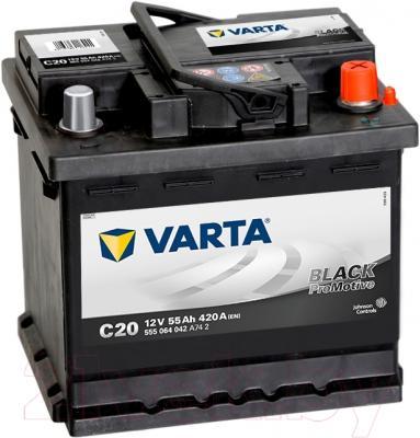 Автомобильный аккумулятор Varta Promotive Black 555064 (55 А/ч)