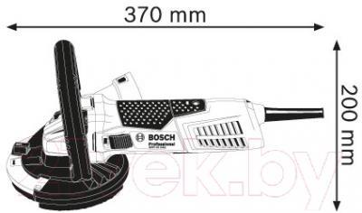 Профессиональная угловая шлифмашина Bosch GBR 15 CAG (0.601.776.001)