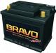 Автомобильный аккумулятор BRAVO 6СТ-60 Евро / 560010009 (60 А/ч) -