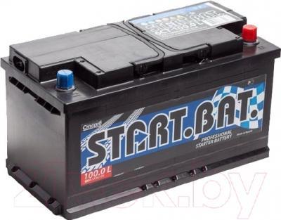 Автомобильный аккумулятор СтартБат 6СТ-100е / 600000004 (100 А/ч)