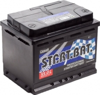 Автомобильный аккумулятор СтартБат 6СТ-55 / 555001004 (55 А/ч) -