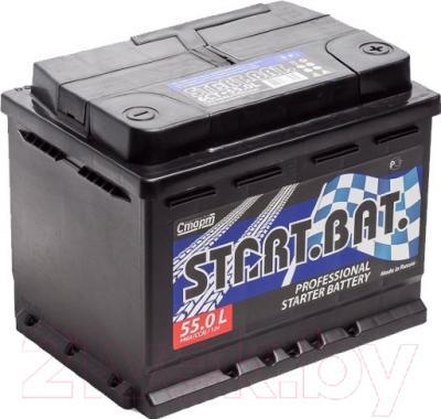 Автомобильный аккумулятор СтартБат 6СТ-55 / 555001004 (55 А/ч)