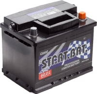 Автомобильный аккумулятор СтартБат 6СТ-60е / 560000004 (60 А/ч) -
