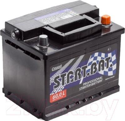 Автомобильный аккумулятор СтартБат 6СТ-60е / 560000004 (60 А/ч)