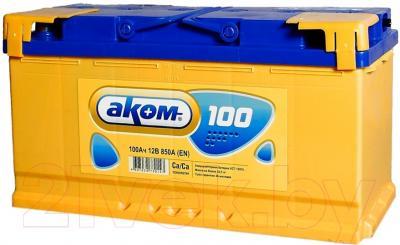 Автомобильный аккумулятор AKOM Классик 6СТ-100 / 600000010 (100 А/ч)