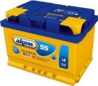 Автомобильный аккумулятор AKOM 6СТ-55 Евро / 555000000н (55 А/ч) -