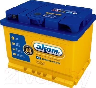 Автомобильный аккумулятор AKOM 6СТ-60 Евро EFB / 560000efb (60 А/ч)