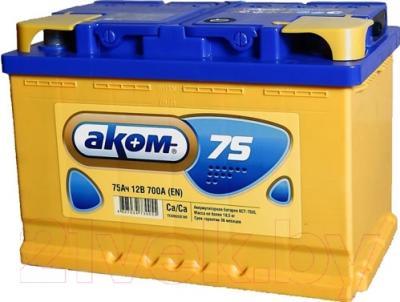 Автомобильный аккумулятор AKOM 6СТ-75 / 575001009 (75 А/ч)