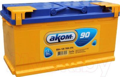 Автомобильный аккумулятор AKOM 6СТ-90 Евро / 590000009 (90 А/ч)