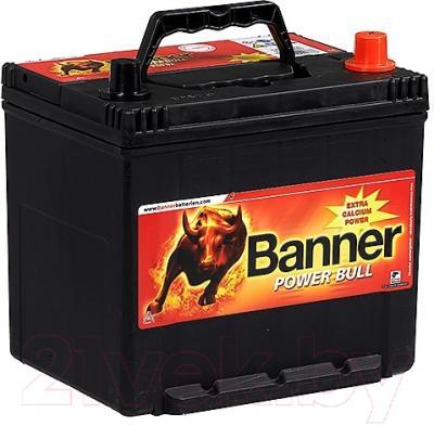 Автомобильный аккумулятор Banner Power Bull P6062 (60 А/ч)