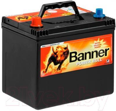 Автомобильный аккумулятор Banner Power Bull P6069 (60 А/ч)