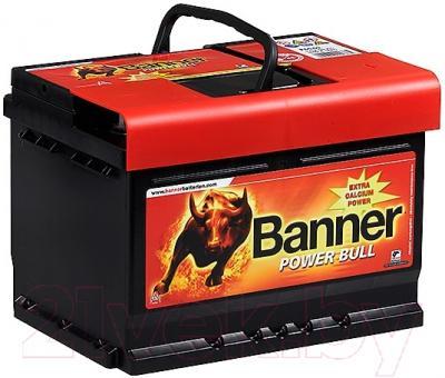 Автомобильный аккумулятор Banner Power Bull P6219 (62 А/ч)
