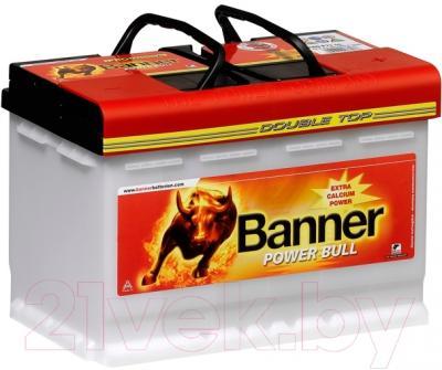 Автомобильный аккумулятор Banner Power Bull PRO P7540 (75 А/ч)