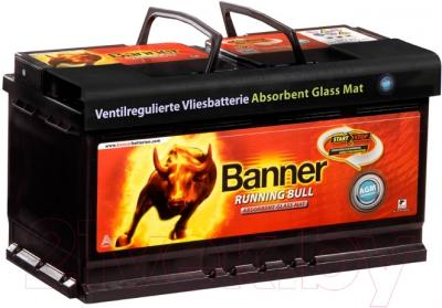 Автомобильный аккумулятор Banner Running Bull AGM 58001 (80 А/ч)
