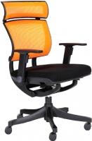 Кресло офисное Chairman Pull (черный/оранжевый) -