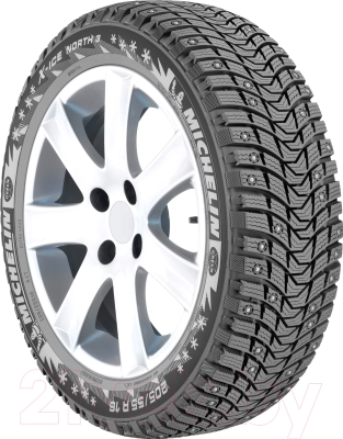 Зимняя шина Michelin X-Ice North 3 205/60R16 96T (шипы)