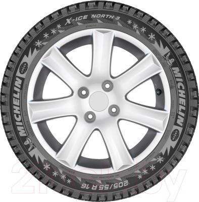 Зимняя шина Michelin X-Ice North 3 195/65R15 95T (шипы)