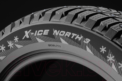 Зимняя шина Michelin X-Ice North 3 185/65R15 92T (шипы)