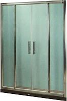 Стеклянная шторка для ванны Coliseum DS 266-120 (прозрачное стекло) -