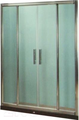 Стеклянная шторка для ванны Coliseum DS 266-120 (прозрачное стекло)