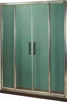 Стеклянная шторка для ванны Coliseum DS 266-120 (тонированное стекло)