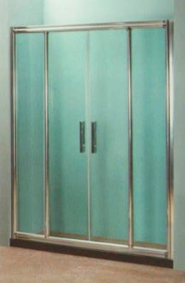 Стеклянная шторка для ванны Coliseum DS 266-140 (тонированное стекло)