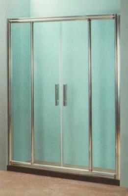 Стеклянная шторка для ванны Coliseum DS 266-150 (прозрачное стекло)
