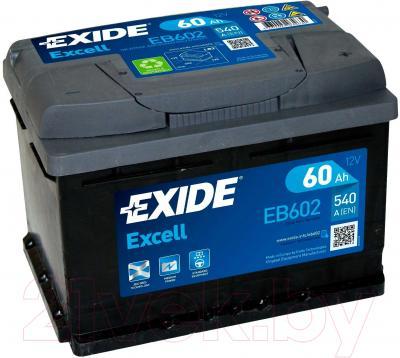 Автомобильный аккумулятор Exide Excell EB602 (60 А/ч)