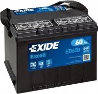 Автомобильный аккумулятор Exide Excell EB608 (60 А/ч) -