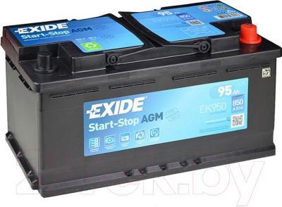 Автомобильный аккумулятор Exide AGM EK950 (95 А/ч)