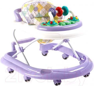 Ходунки Happy Baby Smiley V2 (фиолетовый)