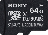Карта памяти Sony microSDXC (Class 10) 64GB (SR64UY3A) -
