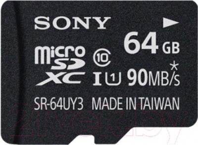 Карта памяти Sony microSDXC (Class 10) 64GB (SR64UY3A)