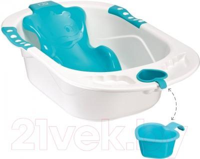 Ванночка детская Happy Baby Комфорт (голубой)