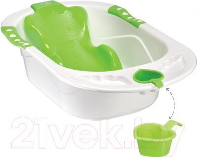 Ванночка детская Happy Baby Комфорт (зеленый)